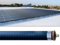 Цилиндрические солнечные батареи