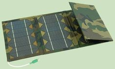 Складная солнечная батарея