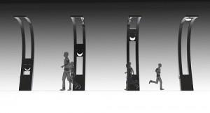 Креативный солнечный фонарь Solar Eclipse