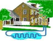 Размещение теплообменника в воде