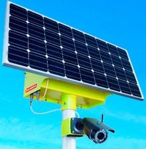 Камера с солнечными батареями