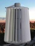 Вертикальный многолопастной ветрогенератор