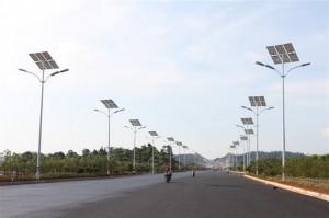 Уличное освещение с использованием энергии солнца