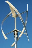 Ветрогенератор с вертикальным валом