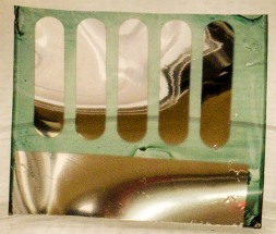 Солнечная батарея на целлюлозной подложке