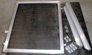 Рама из алюминиевых уголков