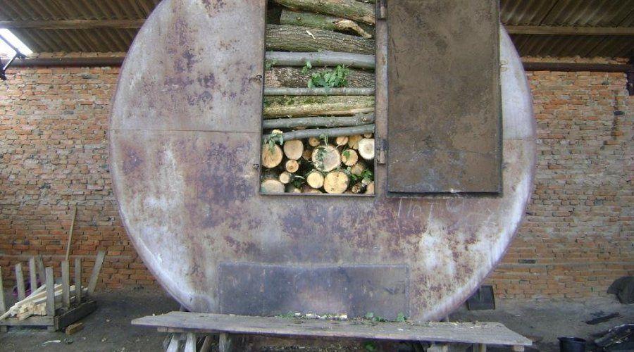 Производства древесного угля своими руками