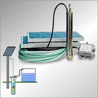Качаем воду с помощью солнечных панелей