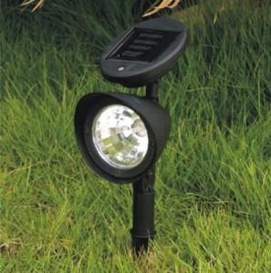 Спутник садовых дорожек - солнечный прожектор