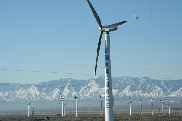 Ветроэлектростанции в Китае