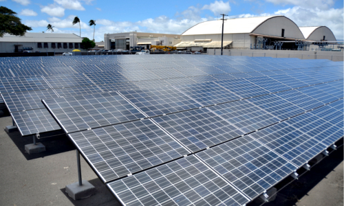 Солнечные панели на Гавайях
