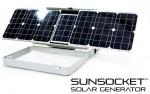 Портативный солнечный генератор