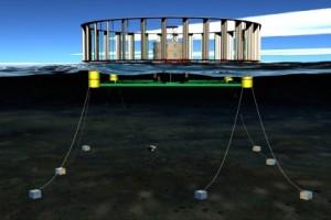 Проект морской ветроэнергетической установки
