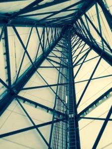 Пятисторонняя башня ветроустановки