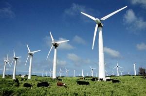 Наземные ветроустановки