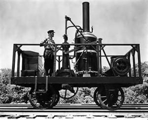 Tom Thumb локомотив без кабины