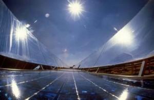 Солнечный бассейн в Израиле