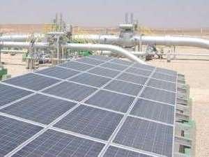 Катодная защита с солнечными батареями в Туркменистане