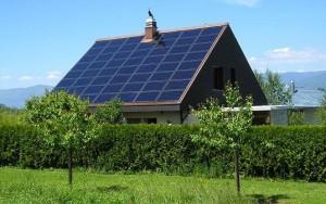 Дом, питающийся энергией солнца