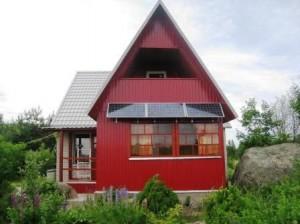 Пример солнечной системы для частного дома