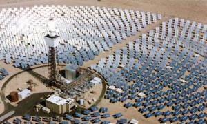 Самая крупная солнечная электростанция