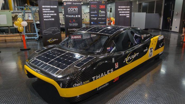 Электромобиль Sunswift_eVe