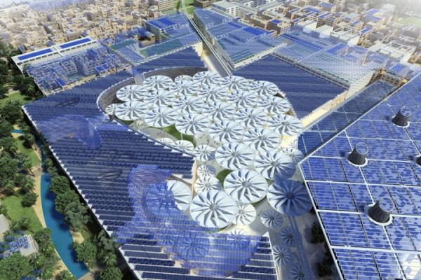 Экологически чистый город Будущего - Масдар в Эмиратах