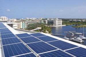 Солнечные установки в США