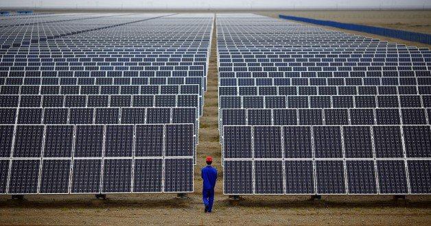 Солнечная станция в Китае