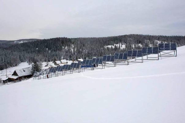 Солнечная электростанция в Эльбеза