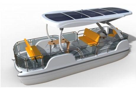 Loon - 8-местная лодка на солнечной энергии