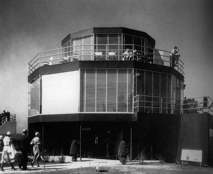 """Джордж Фред Кек. Павильон """"Дом завтрашнего дня"""". Всемирная выставка в Чикаго, 1933."""