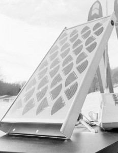 Солнечная панель лаборатории Bell