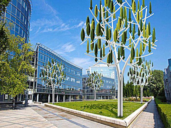 Деревья из ветровых турбин