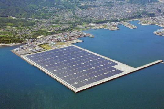 Плавающая солнечная электростанция Kyocera