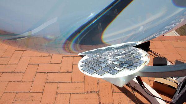 Кремниевые солнечные ячейки