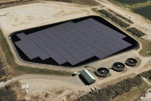 Плавающая солнечная электростанция в Австралии