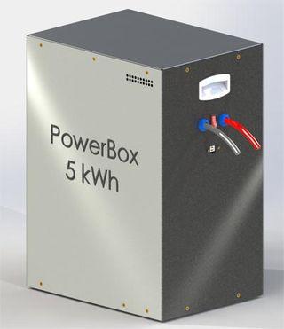 5-КВч литий-ионная батарея от Powertech Systems.