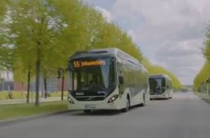 Gothenburg Electric bus