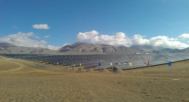 Солнечная электростанция Кош-Агач