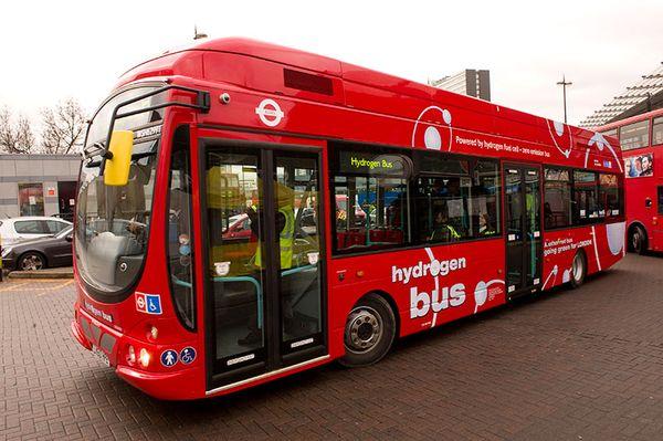 автобус на водородных топливных элементах