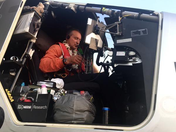 Кабина Solar Impulse 2