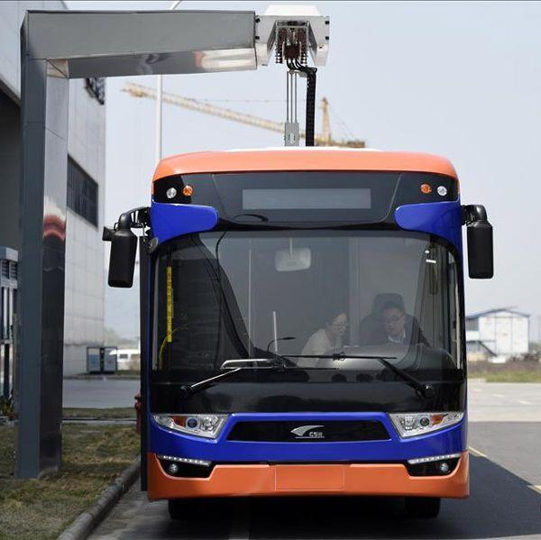 Китайский электрический автобус