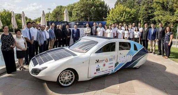 Автомобиль на солнечных батареях разработан в Турции