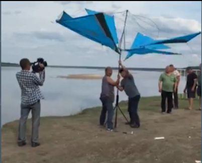 Новый тип ветрогенератора