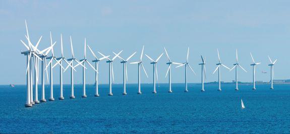 ВЭС чаще строят в прибрежной полосе морей и океанов, где постоянно дуют ветра