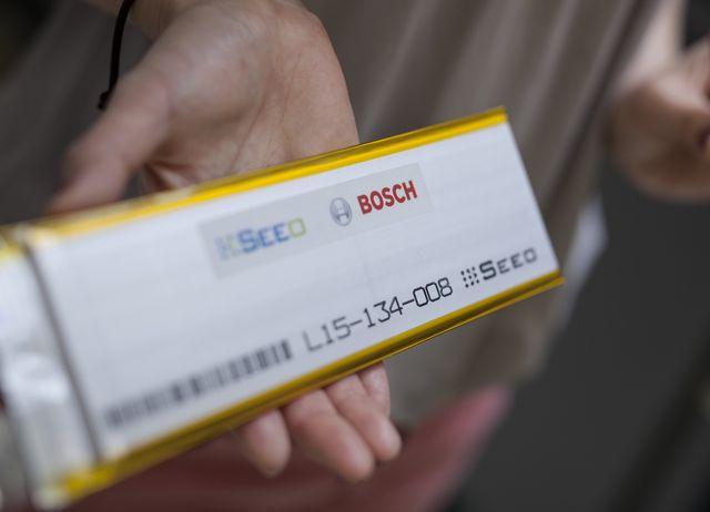 Литий-ионные батареи Bosch с твердотельной технологией