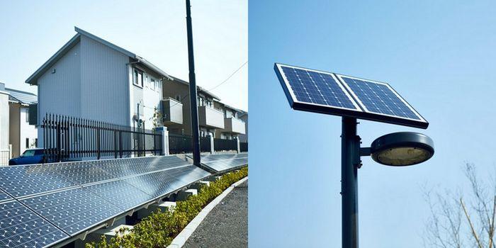 Солнечные батареи в Фуджисава