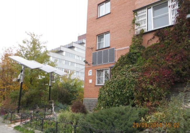 Солнечная станция для многоэтажного жилого дома