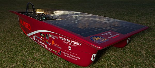 Western Sydney University Solar Car Project Unlimited